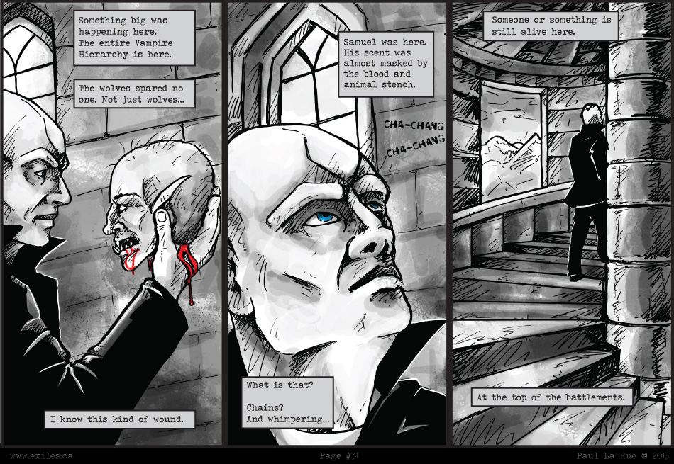 Exiles Web Comic New Page